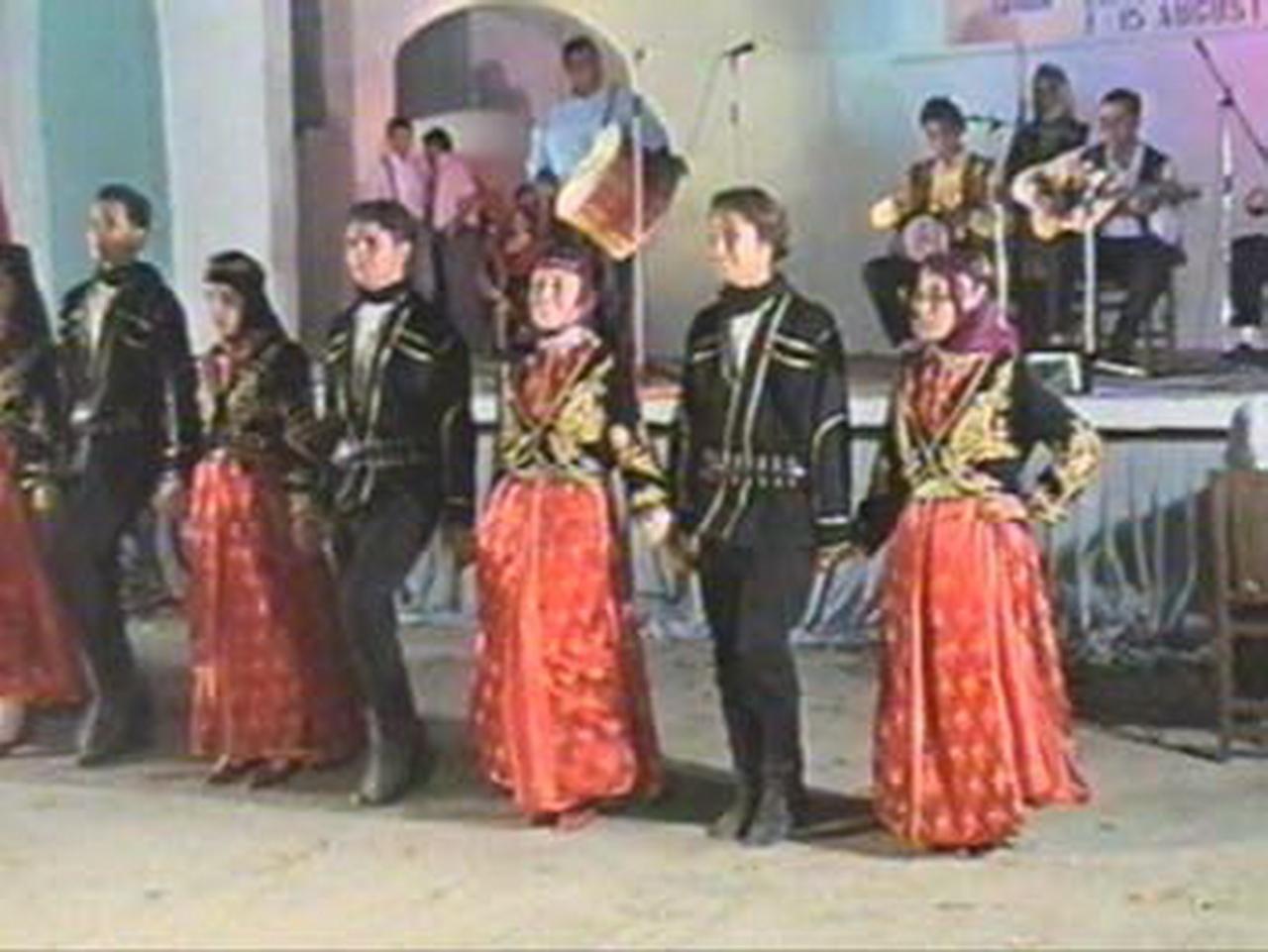 1998 - Ansamblul folcloric ''Halim Focali Anadolu Otelcilik ve Turizm Meslek Lisesi'' - Turcia