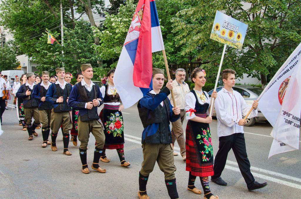 Serbia -- parada