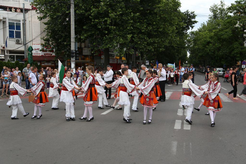 Parada portului popular-Slobozia_