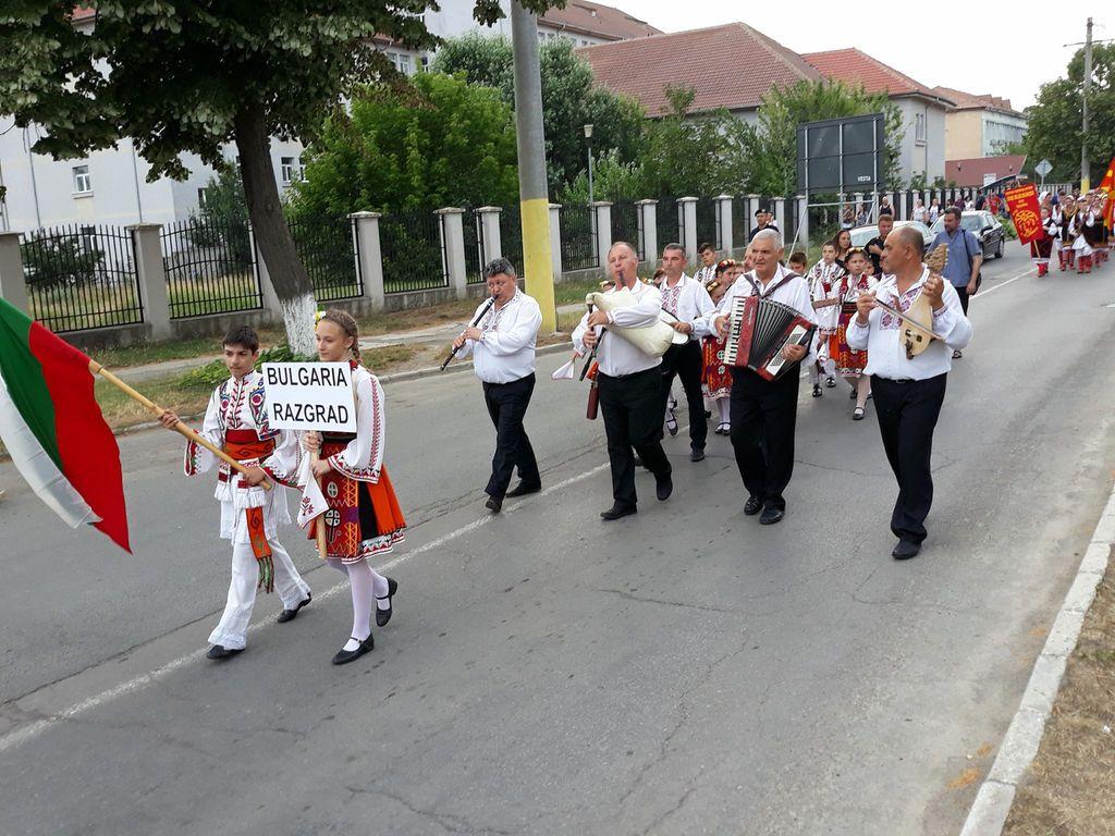 Parada portului popular fetesti